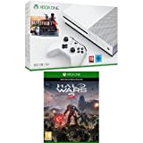 Pack Console Xbox One S 500 Go + Battlefield 1 + Halo Wars 2