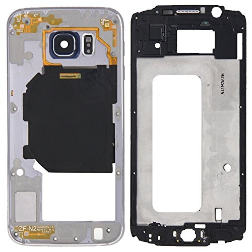 High-end Best Replacement Parts Full Housing Cover(Front Housing LCD Frame Bezel Plate + Back Plate Housing Camera Lens Panel) Compatible With Samsung Galaxy S6 / G920 ( Color : Grey )