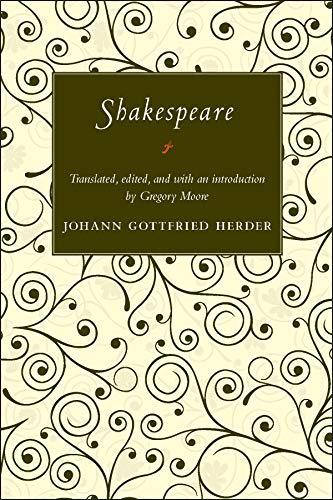 Herder, J: Shakespeare