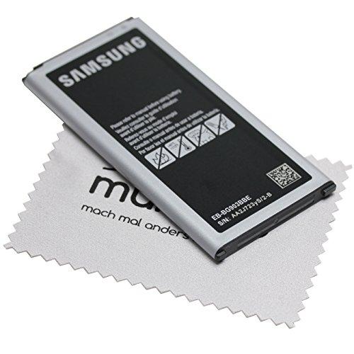 Akku für Samsung Original für Samsung Galaxy S5 Neo Li-Ion EB-BG903 2.800mAh Li-Ion mit mungoo Displayputztuch