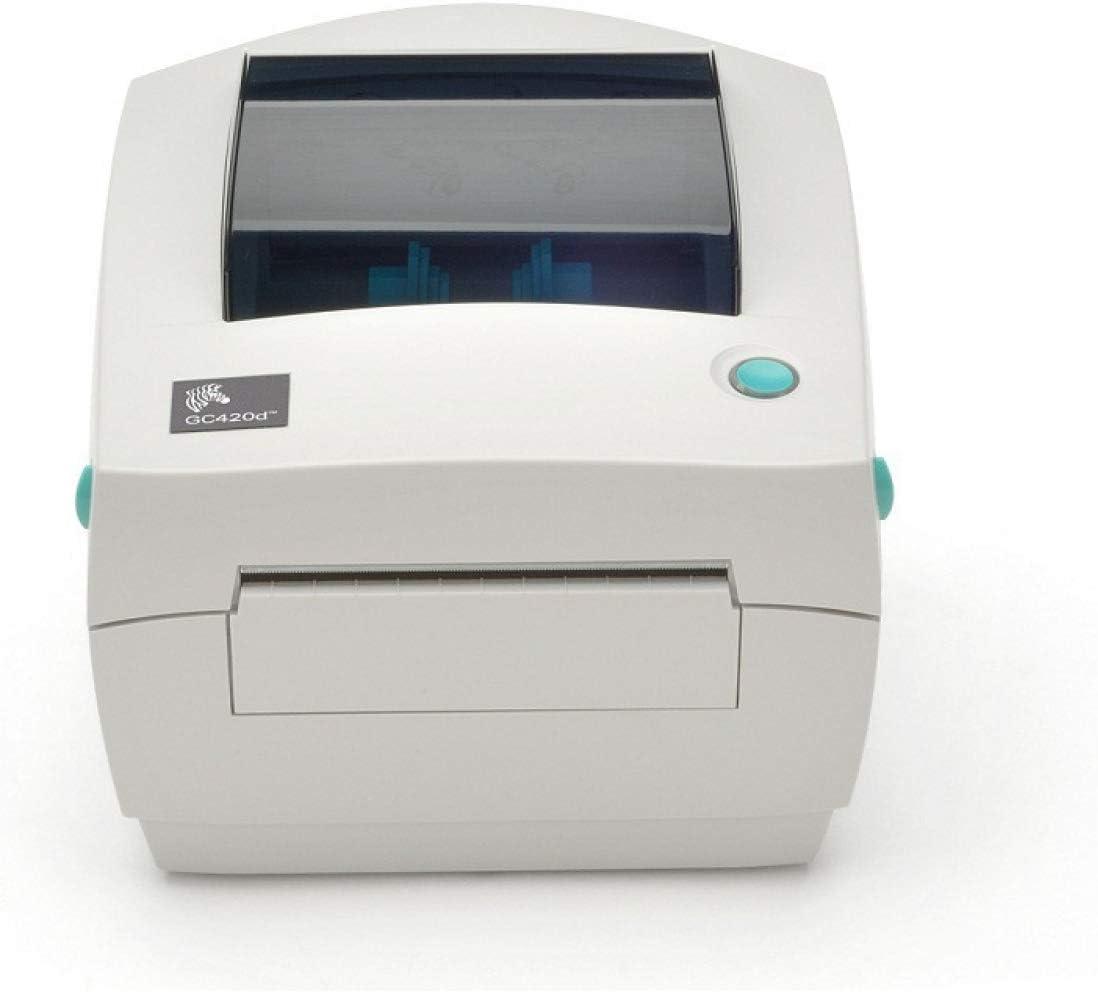 Zebra GC420D Direct Thermal USB Serial Label Printer (GC420-200510-000) (Renewed)