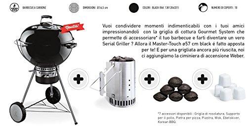 Weber 1381204C01 - Promoción Weber Master-Touch 57Cm Black Gbs