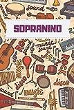 Sopranino Music notebook : Practice & Progress Lesson Notebook