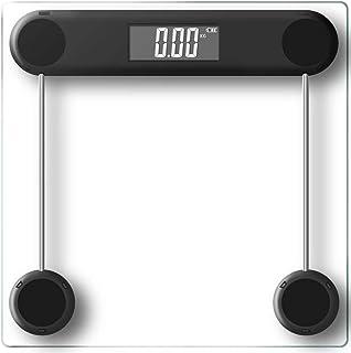 Digital Electronic Bathroom Scale 180KG Backlit Weight Management Transparent Glass
