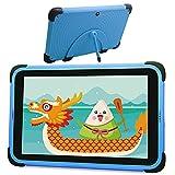 Tablet per bambini da 8 pollici, schermo 1920 * 1200 Full HD, tablet WiFi Android 11, 3 GB di RAM e 32 GB di memoria Tablet per l'apprendimento con supporto per custodia per bambini (blu)