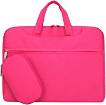 SNOW WI Laptop Case, Multi-Functional Waterproof Laptop Shoulder Bag Briefcase Carry Case for MacBook Air,MacBook Pro,Acer, Asus, Dell, Fujitsu, Lenovo, HP, Samsung, Sony 13.3 Inch rose TTX-6