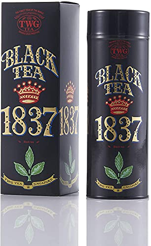 TWG Tea 1837 Black Tea(オートクチュール缶, 茶葉100g入り)
