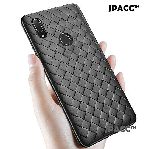 JPACC™ - Soft Light Weight Slim TPU Heat Dissipation Weaving Back Cover CASE for REALME 3