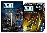 EXIT Kosmos Spiele 694043 Spiel - Das Haus der Rätsel Buch - Der Jahrmarkt der Angst
