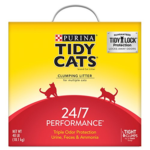 Purina Tidy Cats Clumping Cat Litter, 24/7 Performance Multi Cat...