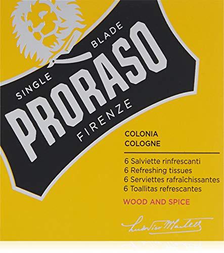 Proraso Cologne On Tissue Wood E Spice 6 Pieces