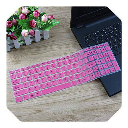 17.3 15.6 inch Keyboard Protector Cover Skin for Lenovo Ideapad 700-15ISK Y700-15 Y700 700-15 z510 z50 g50-80 y50-70 Y500-Pink-