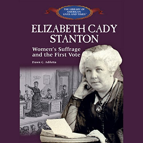 Elizabeth Cady Stanton audiobook cover art
