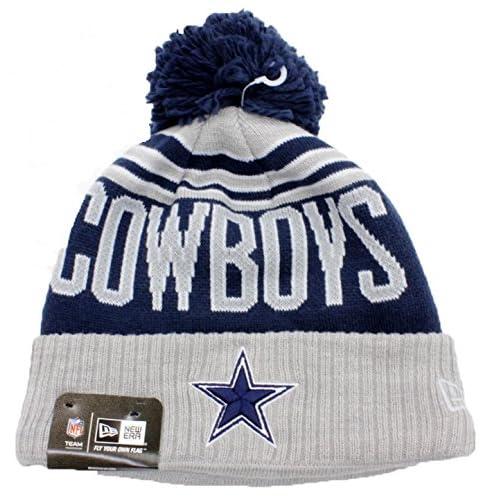 97e7fc2c05c Dallas Cowboys Beanie Hat Authentic NFL Football New Era Winter Blaze Knit  Cap Adult One Size