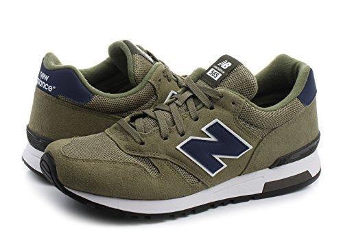 New Balance Herren ML565 Sneaker, Grün (Green/ML565SGN), 40.5 EU