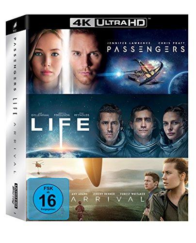 Arrival / Life / Passengers (4K Ultra HD Boxset) (exklusiv bei Amazon.de) [Blu-ray]
