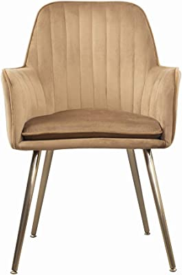 Super Amazon Com High Back Accent Chair In Pink Velvet And Gold Ibusinesslaw Wood Chair Design Ideas Ibusinesslaworg