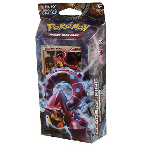 Pokemon Gears of Fire Volcanion XY Steam Siege Theme Deck