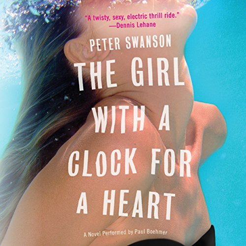 The Girl with a Clock for a Heart audiobook cover art