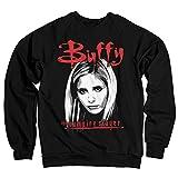 Buffy the Vampire Slayer Licenza Ufficiale Felpa (Nera) Small