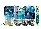 Longboard 078082 Beach Pare-Soleil Avant alu Isolant XL