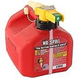 No-Spill 1415 1-1/4-Gallon Poly Gas Can (CARB Compliant)
