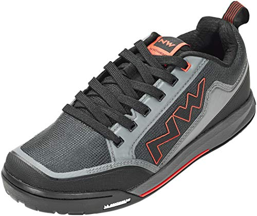 NORTHWAVE Sapatos MTB NW Clan, Zapatillas Unisex Adulto, Ant/Red, 40 EU