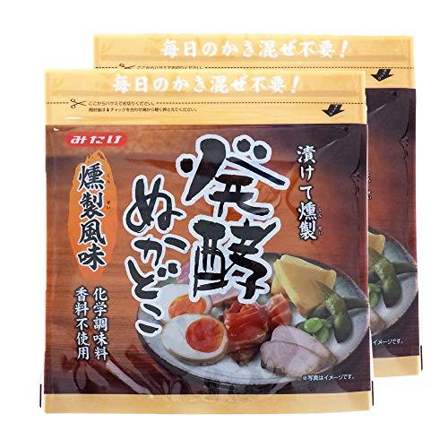 【2袋】みたけ食品 発酵ぬかどこ燻製風味 500g