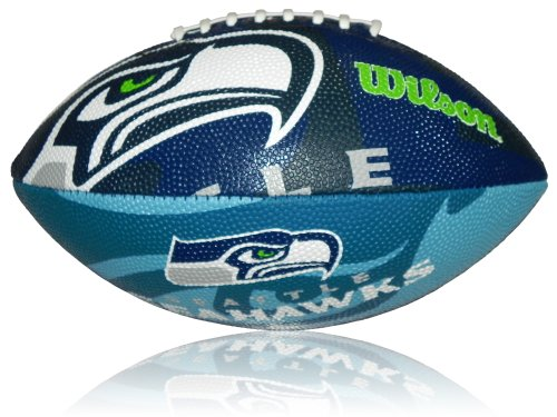 Wilson Football NFL Junior Seattle Seahawks Logo - Balón de fútbol ...
