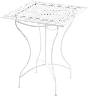 Amazon.es: mesa cristal jardin