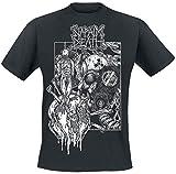Napalm Death Harmony Corruption Hombre Camiseta Negro L, 100% algodón, Regular