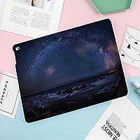 New iPad 9.7インチ(第6、5世代)iPad Air62/Air対応 スマートケース海の向こうにある巨大な天の川は、ソーラーセンターで広がる暗い物質のハローのように見えます