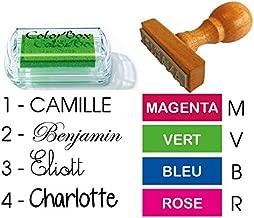 Mattelsen 12 Pi/èces Mini Licornes tampons /à Encre Cheval Couleurs Assorties 14mm Magiques Empreintes