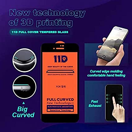 Black Screen Protectors for Phone Color : Black Pokjsofjnjlfkl Phone Products 25 PCS Full Screen Full Glue Anti-Fingerprint Tempered Glass Film for Galaxy A6s