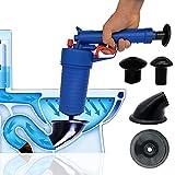 AeKeatDa Air Drain Blaster, Pressure Pump Cleaner for Bath Toilets, Bathroom, Shower, Sink, Bathtub, Kitchen Clogged Pipe