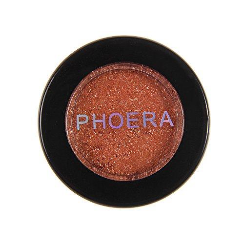 TIREOW Kosmetischer Metallischer Funkeln Schimmernder Farben Lidschatten Pigmente Pulver Wird Als...