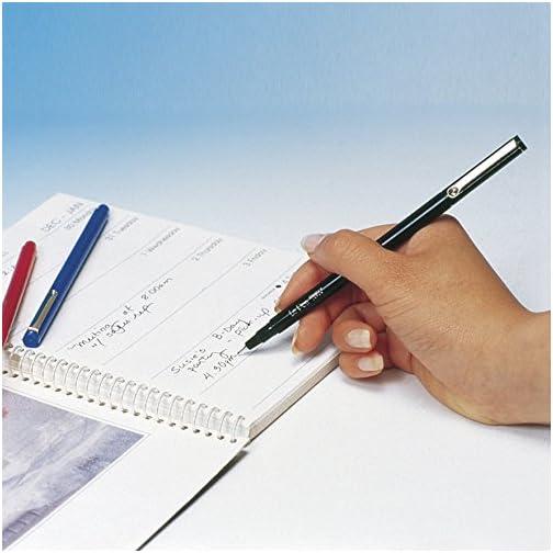 UCHIDA LePen Porous Point Pen, 1 Pack, Black, Blue, Red, Green, Pink, Lavender, Burgundy, 10 Count  