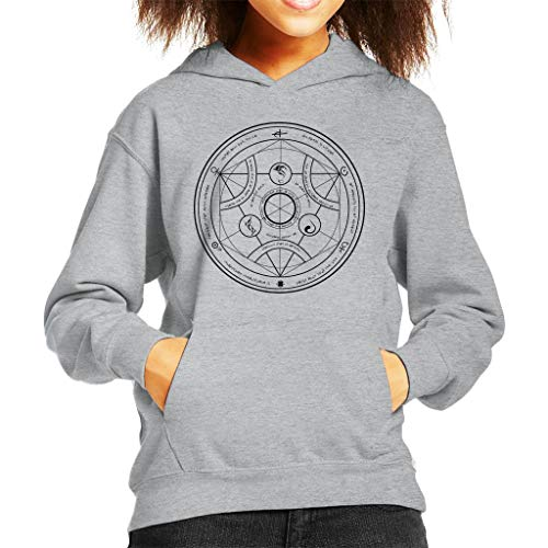 Valyrian Fire Alchemy Black Game of Thrones Kid's Hooded Sweatshirt