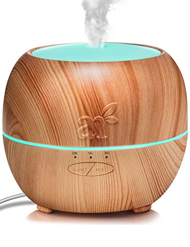 ArtNaturals Aromatherapy Essential Oil Diffuser – (5.0 Fl Oz / 150ml Tank) – Ultrasonic Cool Mist Aroma Humidifier - Auto Shut-Off Whisper Quiet – for Home, Office & Bedroom