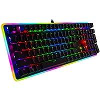 Rosewill RGB LED Glow Backlit Mechanical Gaming Keyboard