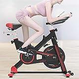 Uso S700 Casa Quiet Spinning bicicleta Indoor Sport bicicleta Fitness dispositivo con indicador LED & soporte para tablet u rueda móvil
