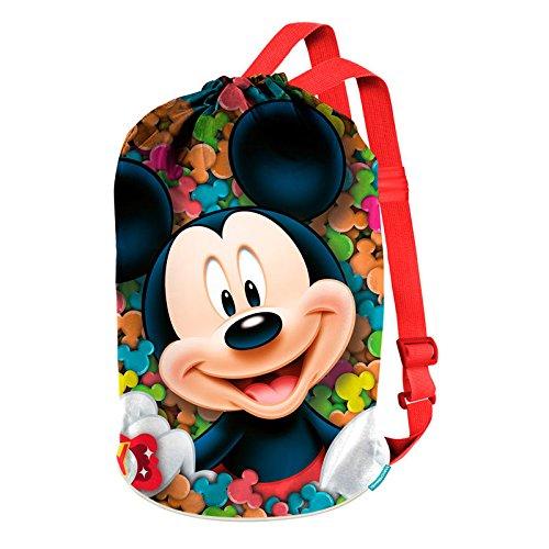 Karactermania Mickey Mouse Delicious stoffen en strandtas, 40 cm, rood