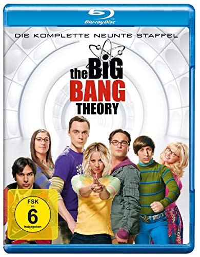 Cover The Big Bang Theory - Die komplette 9. Staffel [Blu-ray]