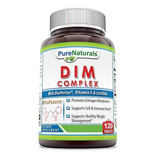 Pure Naturals DIM Plus 120 Tablets