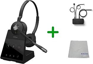 $399 » Avaya Compatible Jabra Engage Wireless Headset Bundle with EHS Adapter | Avaya Deskphones, Bluetooth Phones, PC/MAC - Compatible Models: J169, J179, 1608, 1616, 1608, 1616 (Duo, Engage 65)