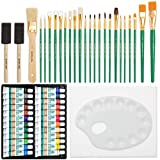 Free Hand Oil Painting Deluxe Art Set