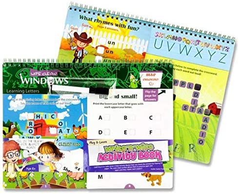 Now on sale Write n Wipe Play and Learn Activity Ranking TOP3 Clever Kidz Book by