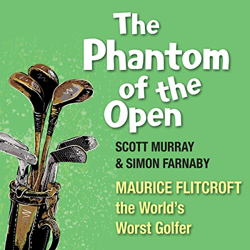 The Phantom of the Open audiobook cover art