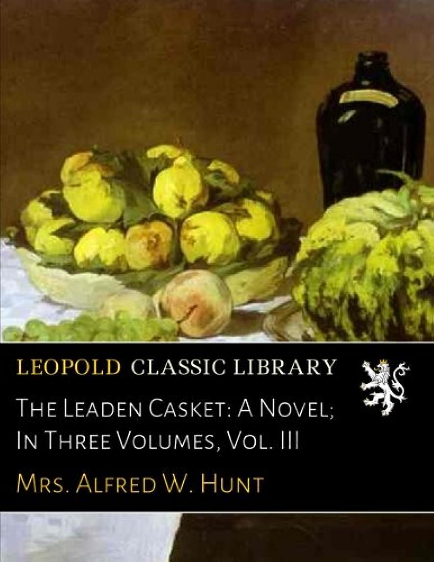 秘書極端な鏡The Leaden Casket: A Novel; In Three Volumes, Vol. III