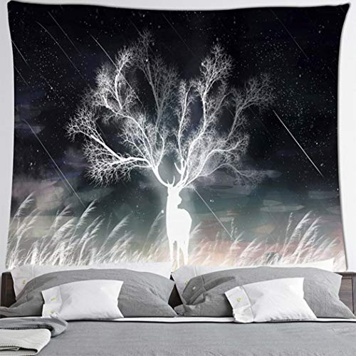 Tarot Magic Tapiz de Astrología Funda de cama para playa, tela decorativa de pared, estilo nórdico, 2,150 x 130 cm